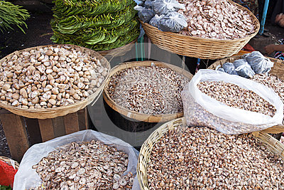 Betel Nuts at Market