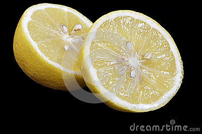 Sliced Lemon Fruit