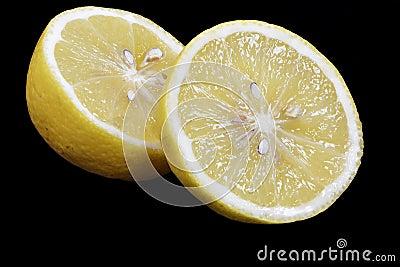 Sliced Lemon Fruit