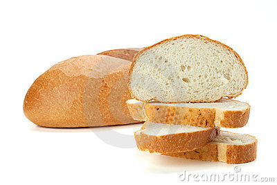 Sliced loaf bread