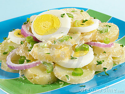 Sliced Potato Salad
