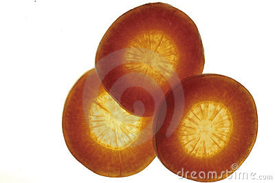 Slices Of Carrot Stock Photo - Image: 12331650