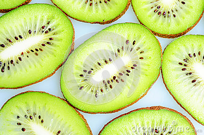 Slices Of Kiwi Fruits Stock Image - Image: 26878801
