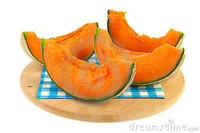 Slices melon