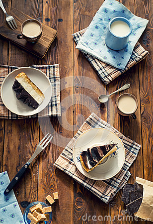 Free Slices Of Cake Stock Photography - 67288422