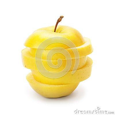 Free Slices Of Ripe Apple Stock Image - 51522991