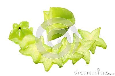 Slices of Star Fruit