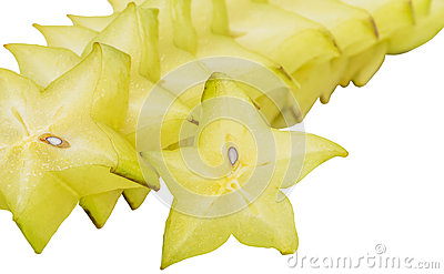 Slices of Starfruit II
