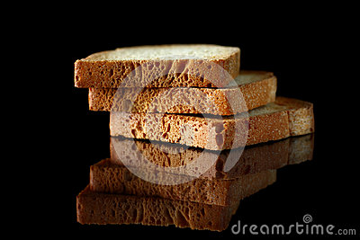 Slices of toasts