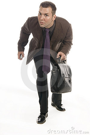 Free Slick Businessman Stock Photography - 598592