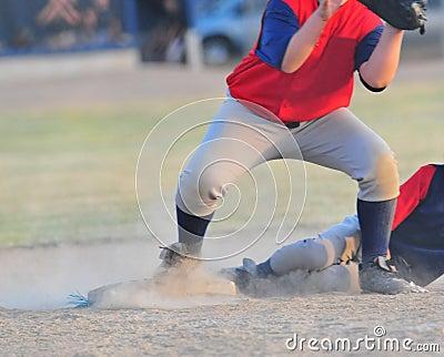Slide into 3rd base