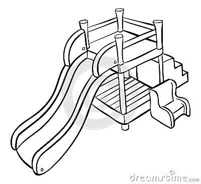 Slide outline playground