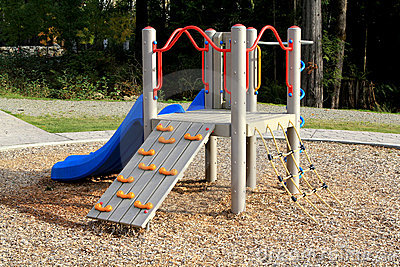Slide at Playground