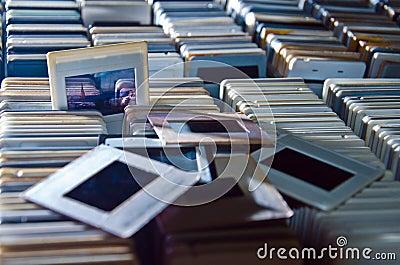 slides diapositive vintage