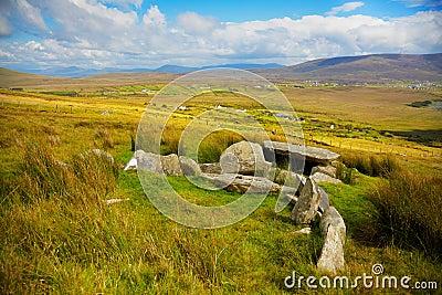 Slievemore dolmen