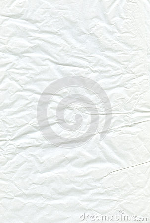 White Crimped Pergament Paper