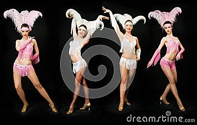 Slim dancers