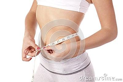 Slim measuring waist