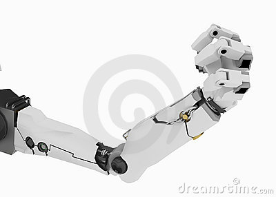 Slim Robot Arm, Fist