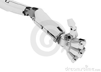 Slim Robot Arm, Thumb Up