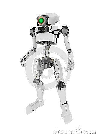 Slim Robot, Standing