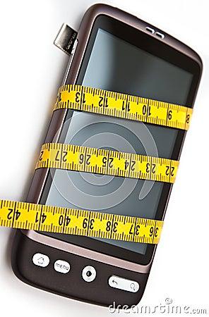 Slim smartphone