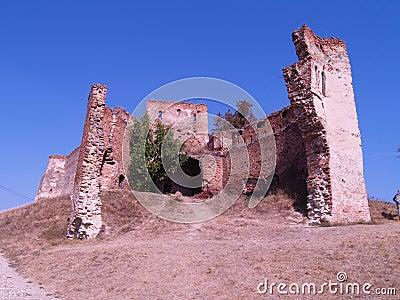 Slimnic Castle Transilvania