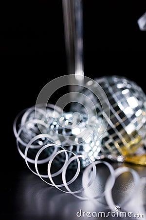 Slingra silver för bocalsgarnering