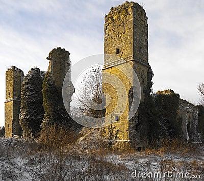Ancient Ruins - Yorkshire - England