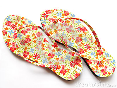 Slippers florals