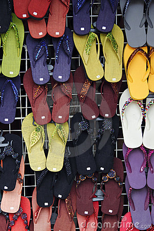 Slippers galore