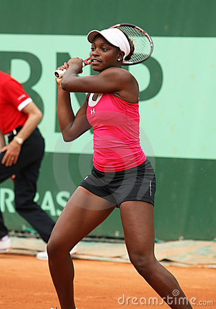 Sloane Stephens (USA) at Roland Garros 2011 Editorial Photography