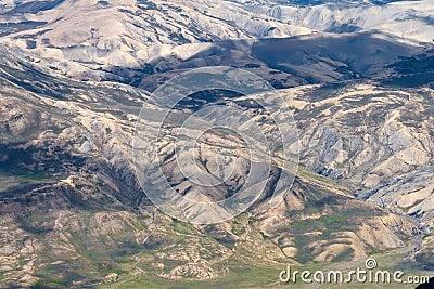Slopes of Chacaltaya Range, Bolivia
