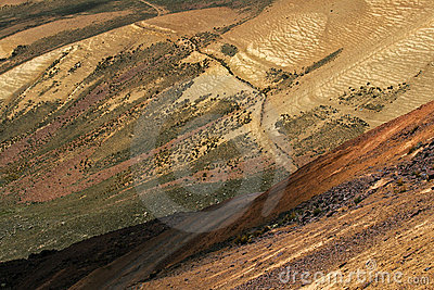 Slopes of Chacaltaya Range in Bolivian Andes
