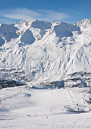 On the slopes of Obergurgl. Austria
