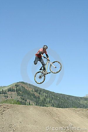 Slopestyle Competition Editorial Stock Photo