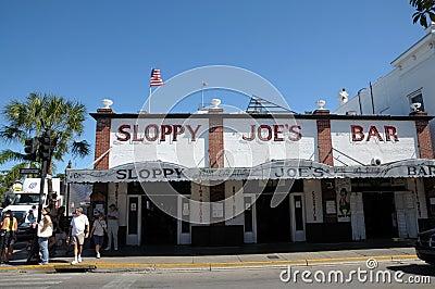 Sloppy Joe s Bar in Key West Editorial Stock Image