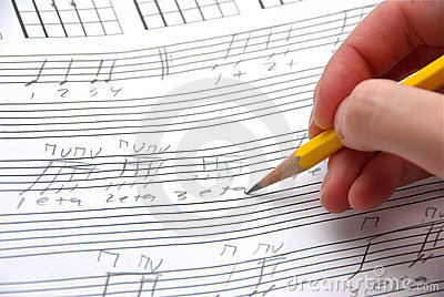 Sloppy music writing.