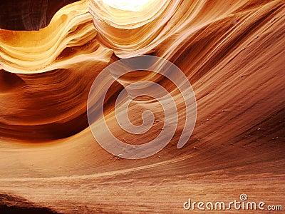 Slot canyon contours