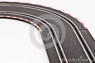 Slot cars track