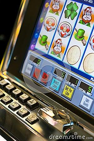 Slot Machine Editorial Photo