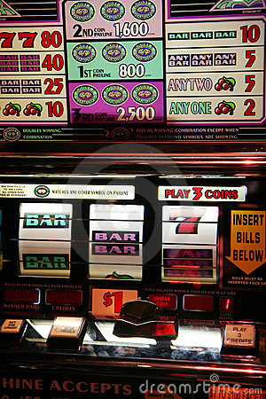Slot Machine Editorial Photo