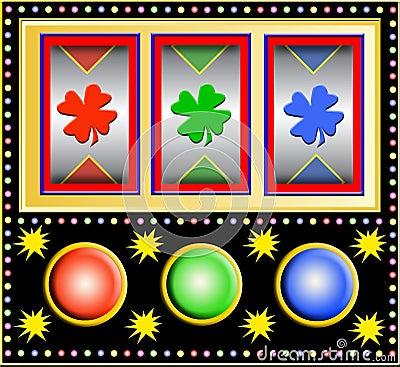Free Slot Machine Stock Photo - 4450410