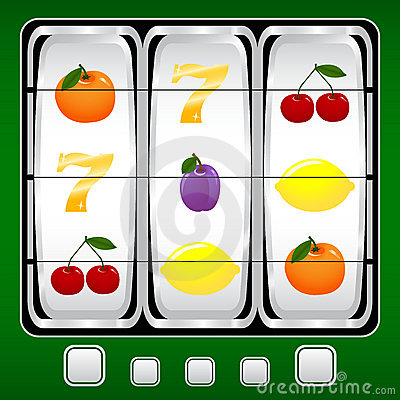 Free Slot Machine Royalty Free Stock Photography - 5186857