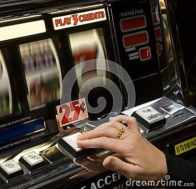 Free Slot Machine Stock Photography - 9078342