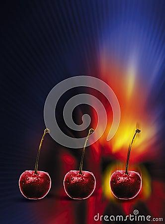 Slot machine fruit