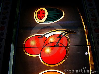 Slot machine fruit icons