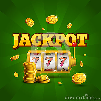 Free Slot Machine Lucky Sevens Jackpot Concept 777. Vector Casino Game. Slot Machine With Money Coins. Fortune Chance Jackpot Royalty Free Stock Photos - 91071758
