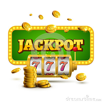 Free Slot Machine Lucky Sevens Jackpot Concept 777. Vector Casino Game. Slot Machine With Money Coins. Fortune Chance Jackpot Royalty Free Stock Photos - 92728008