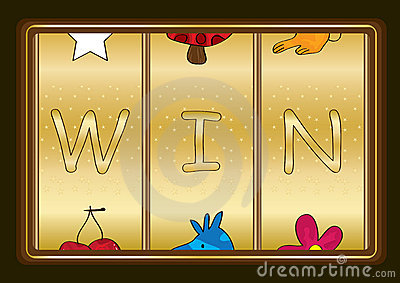 Slot Machine Win_eps